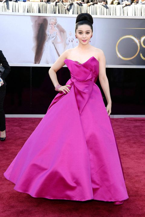 fan bingbing oscars 2013 red carpet