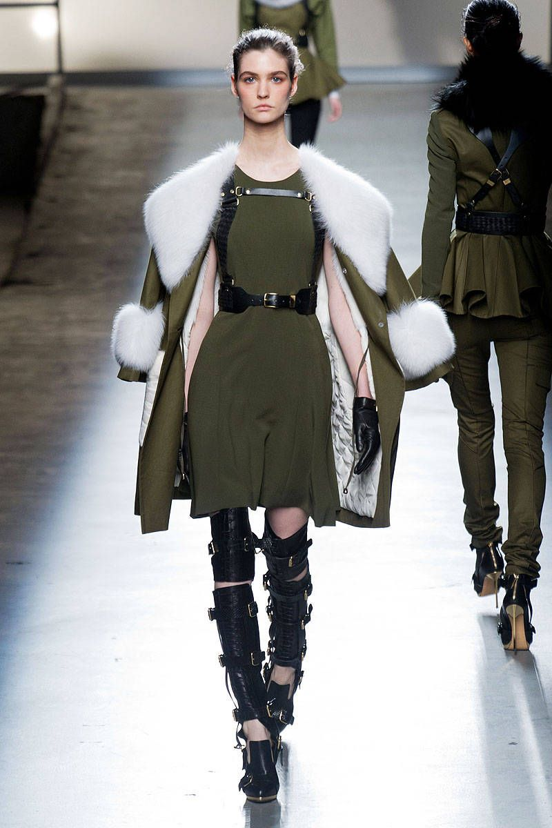 prabal gurung fall 2013 fur