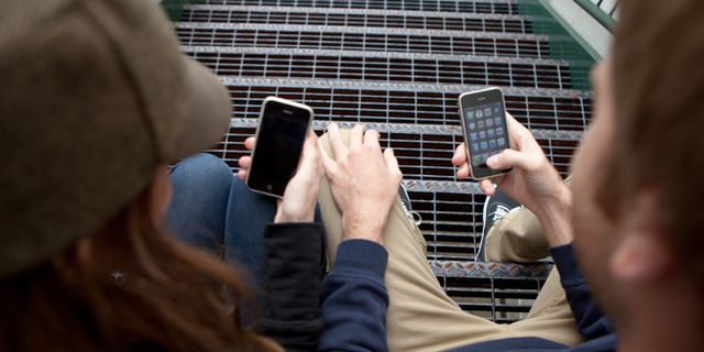 How a Couple's Text Messages Changed After Marriage