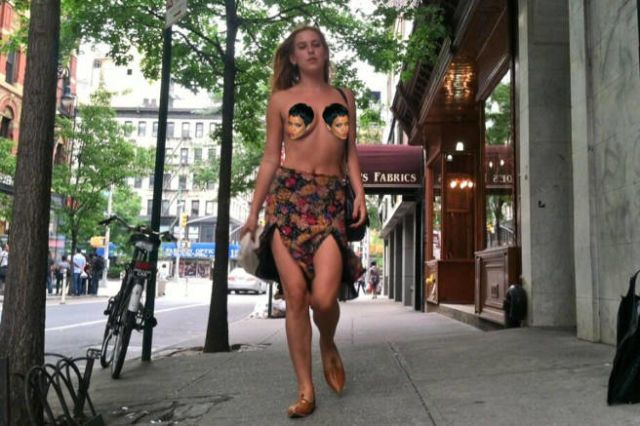 Scout Willis Is Staging a Topless Instagram Protest
