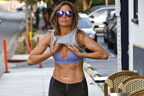 67aefd483066c J.Lo Stripped on the Street Yesterday-Jennifer Lopez Leaves Gym