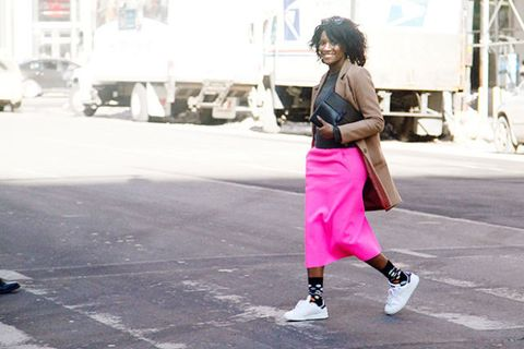 get cheap 00c6d c65b9 How Adidas Sneakers Became a Fashion Girl