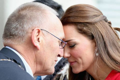 Kate middletons intimate maori greeting explained kate middleton getty images m4hsunfo