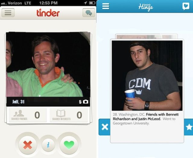 IPhone dating app Tinder