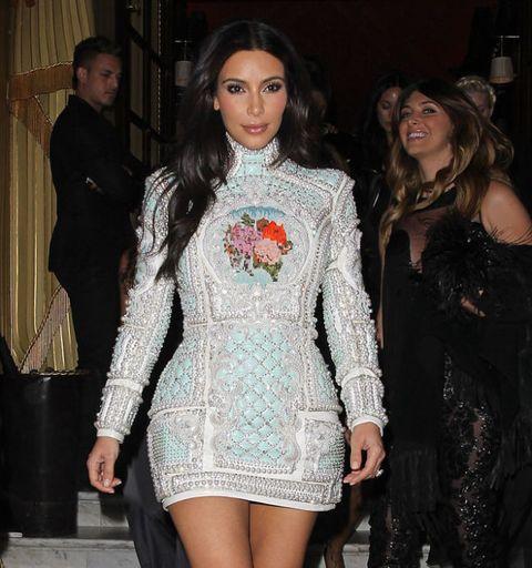 Kim Kardashian Kanye West Wedding Reception Dress 56447 Loadtve