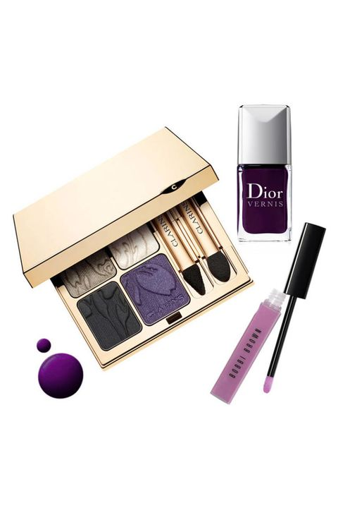 Brown, Purple, Violet, Lavender, Magenta, Pink, Tints and shades, Cosmetics, Eye shadow, Beige,