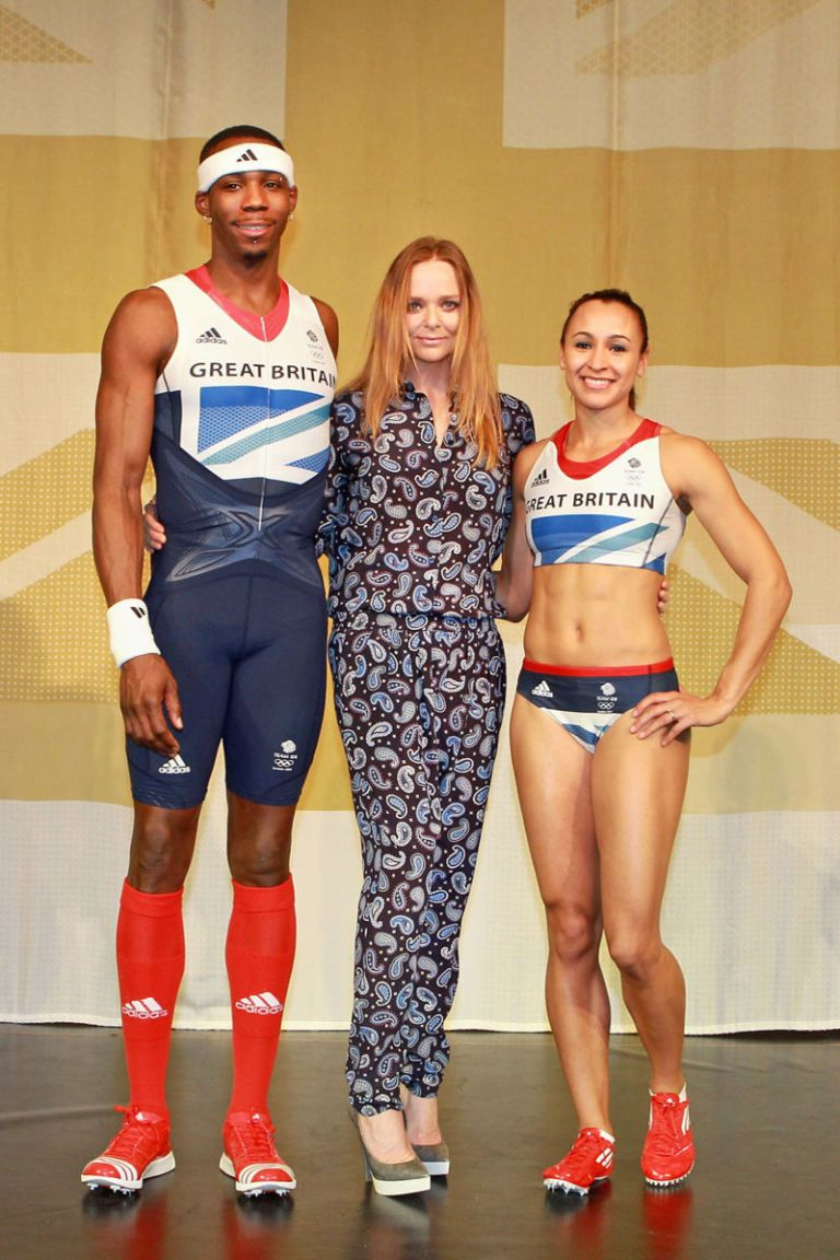 stella mccartney great britain olympic uniforms 2012