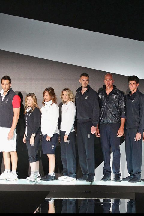 giorgio armani italy olympic uniforms 2012