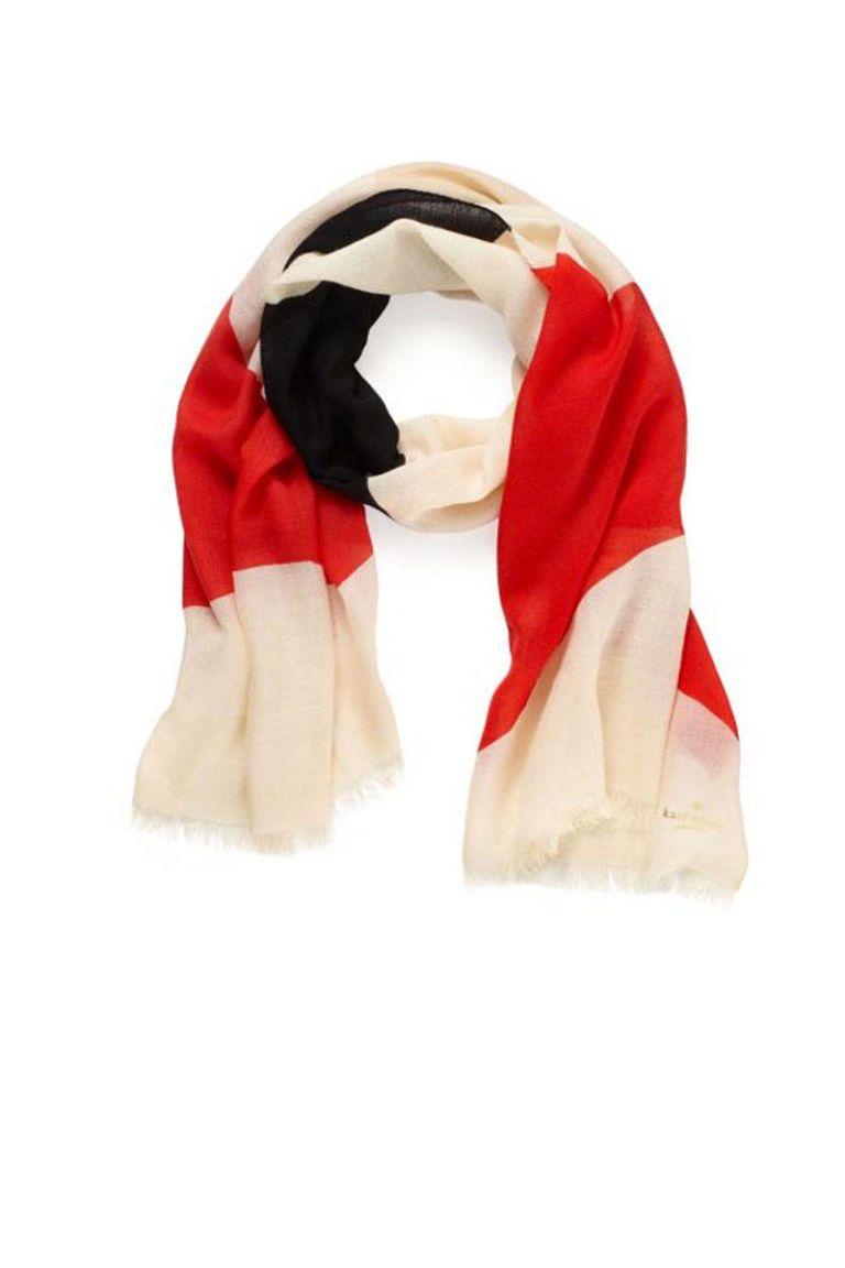 kate spade bow scarf