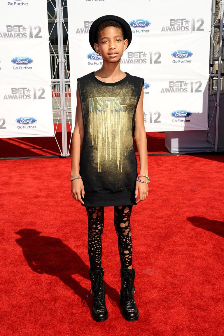 willow smith bet awards 2012
