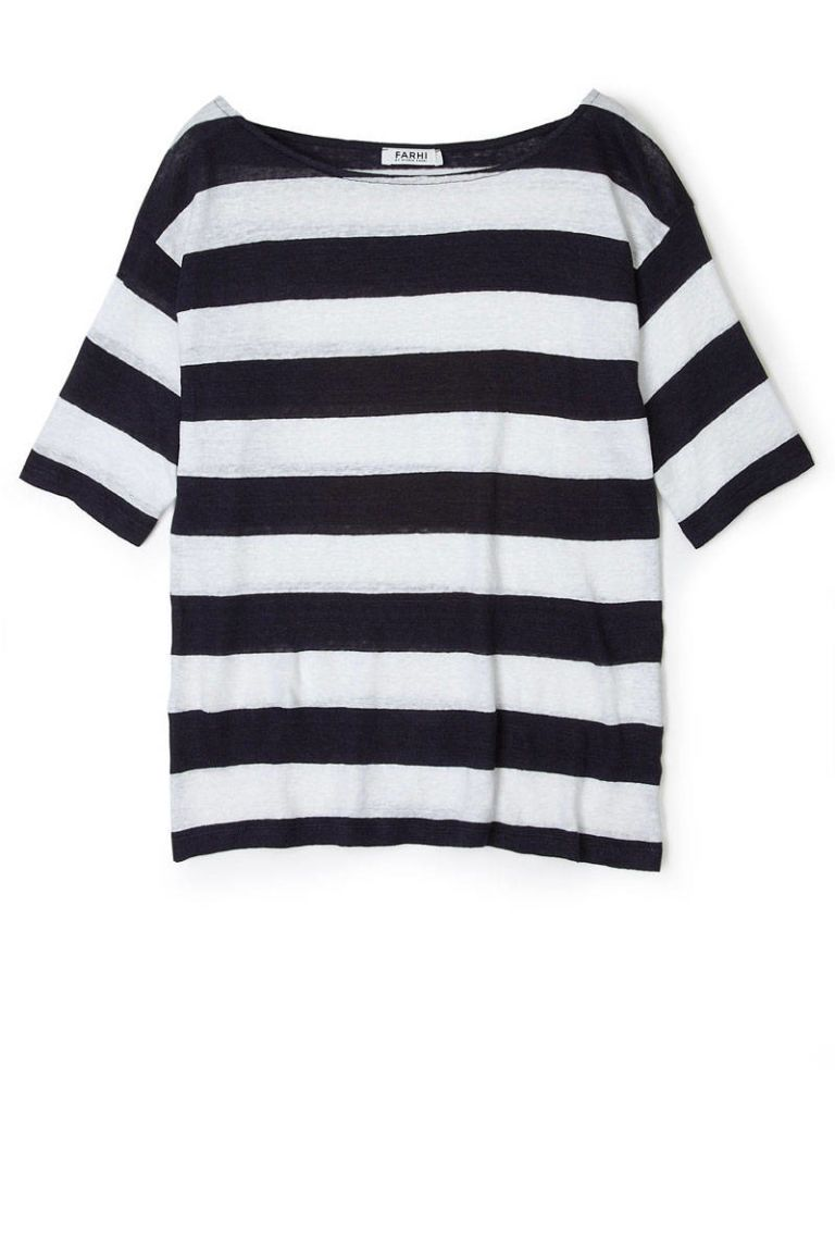 farhi by nicole farhi striped top