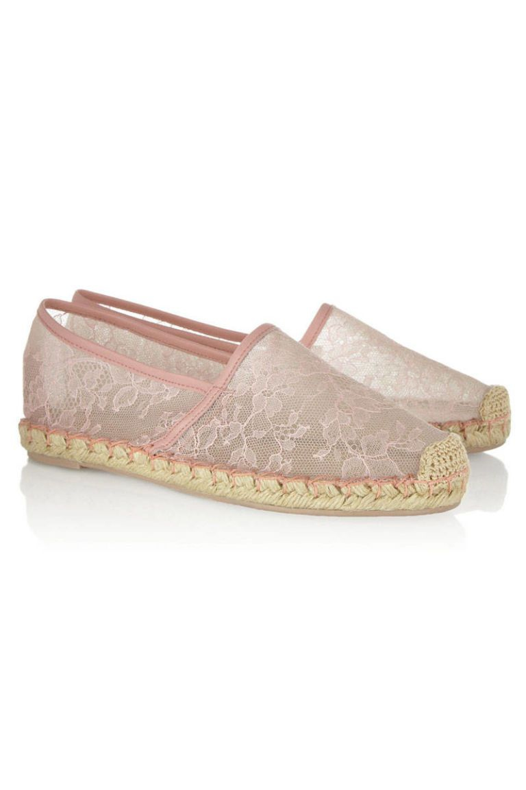 chantilly lace espadrilles