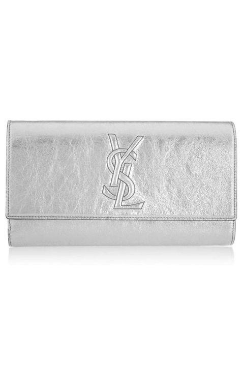 belle de jour silver clutch