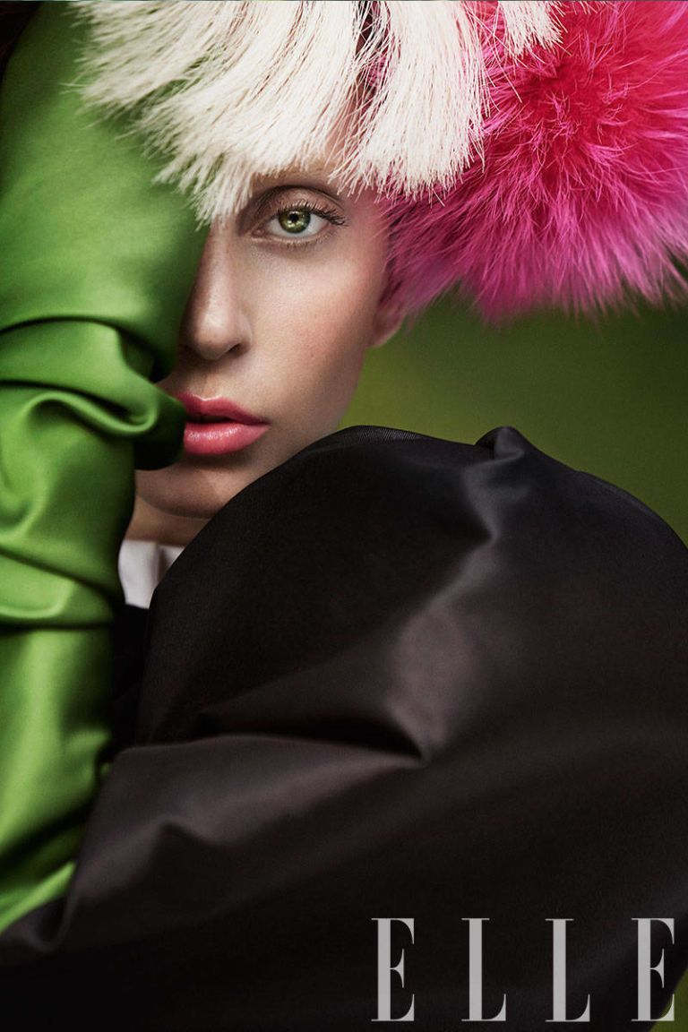 More Outrageous Than Ever? How to Get Lady Gaga's ELLE Cover Look