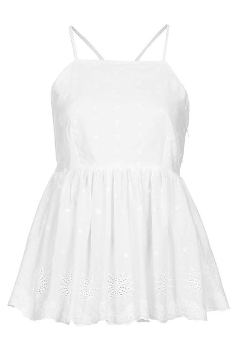 Product, Dress, Sleeve, Textile, White, Pattern, One-piece garment, Style, Day dress, Fashion,