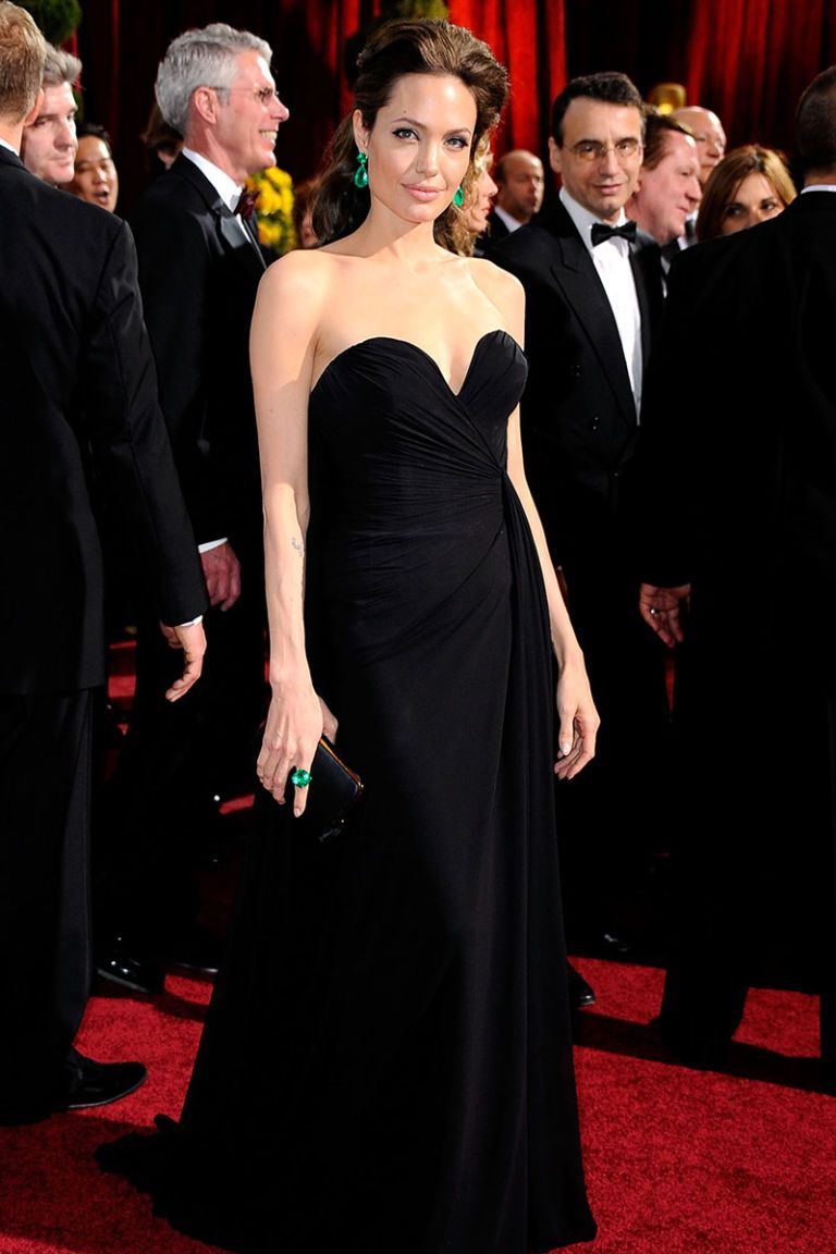 Angelina Jolie - Little Black Dress