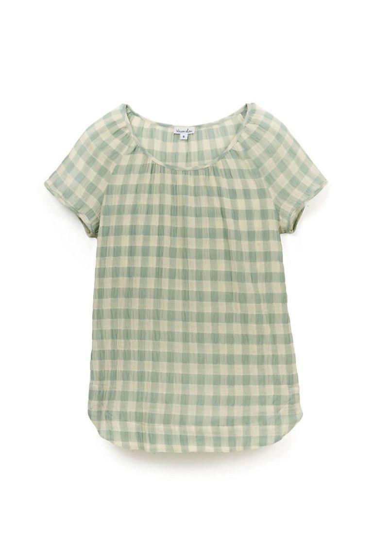 steven alan short sleeve blouse