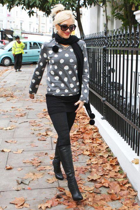 gwen stefani london street style 2011