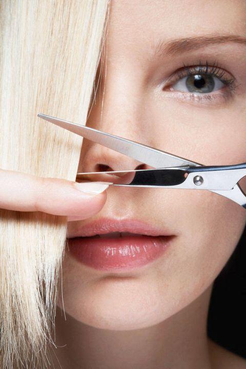 the cut tip
