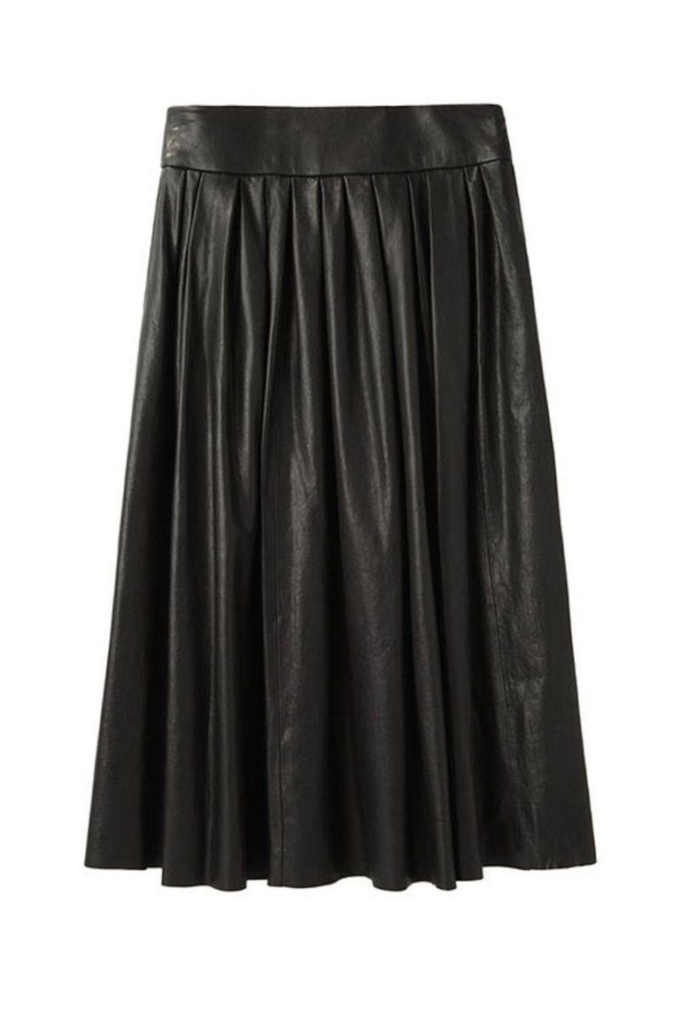 organic john patrick full skirt