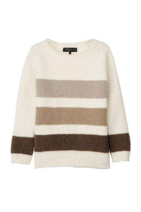 rag bone striped bedford sweater