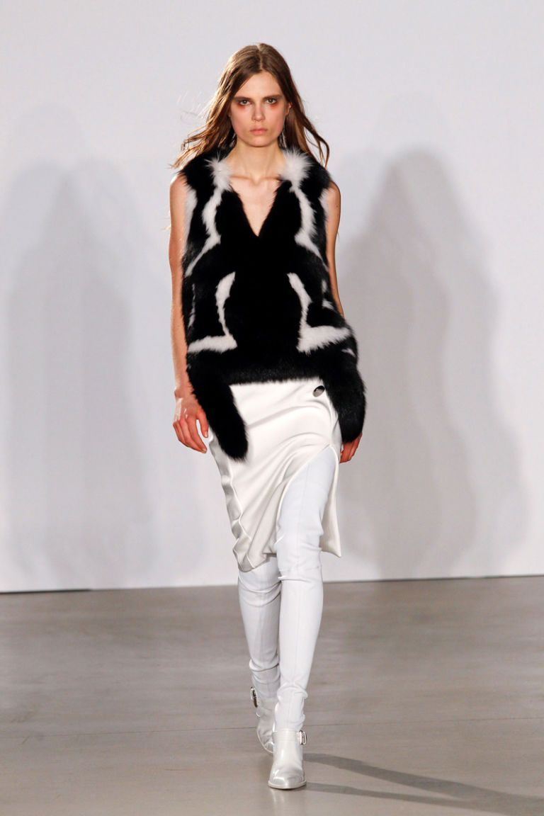altuzarra fall 2013 runway fur