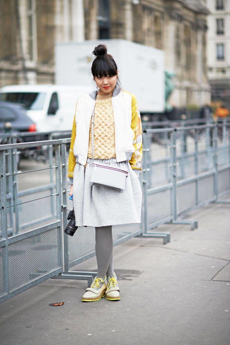 fall 2013 street chic paris fashion week