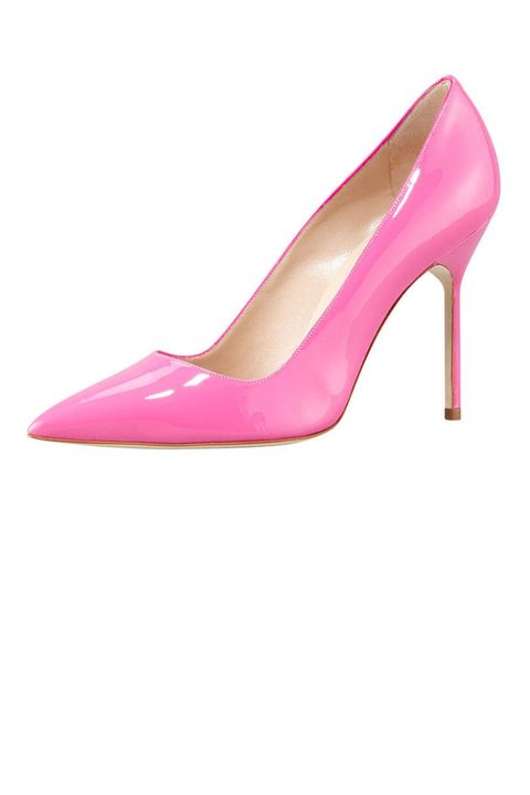 manolo blahnik bb patent pumps