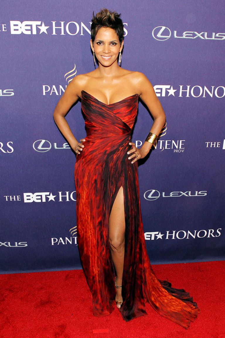 Halle Berry Red Carpet Dresses