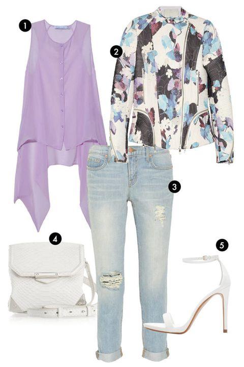 Blue, Product, Sleeve, Textile, White, Pattern, Style, Denim, Fashion, Pocket,