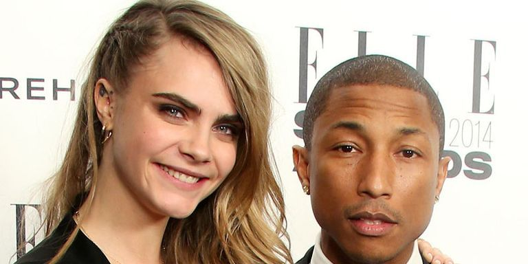 Cara Delevingne Is Reportedly Recording a Single With Pharrell Williams