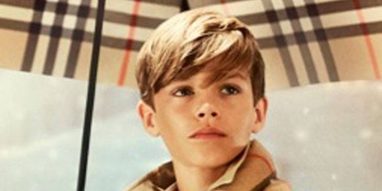 Romeo Beckham Dances, Is Adorable in New Burberry Ad