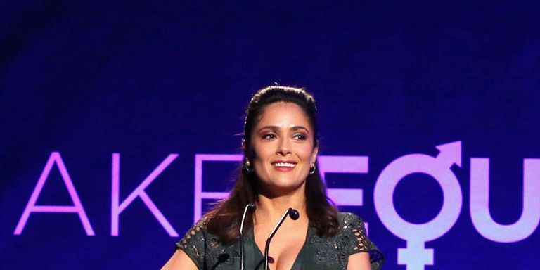 Women's Rights Champion Salma Hayek Says She Is Not a Feminist