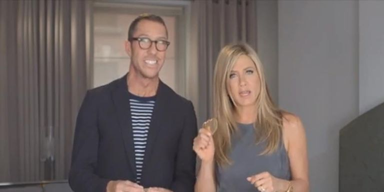Watch: Jennifer Aniston and Chris McMillan Get Scientific for Living Proof