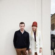Sleeve, Trousers, Collar, Shirt, Standing, Outerwear, Coat, Style, Street fashion, Jacket,