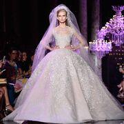 Event, Dress, Gown, Formal wear, Purple, Pink, Lavender, Fashion, Fashion model, Costume design,