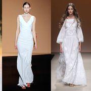 Sleeve, Shoulder, Textile, Joint, White, Formal wear, Style, Waist, Fashion model, Dress,