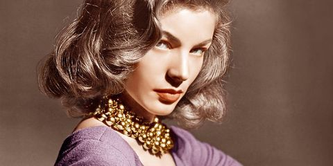 Lauren Bacall's Effortless Glamour
