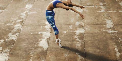 Human leg, Elbow, Knee, Calf, Active pants, Exercise, Back, Sleeveless shirt, Athlete, Running,
