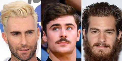 The Craziest Guys Hair Transformations Of 2014 Celebrity Men Hair