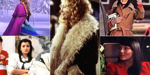 Face, Head, Nose, Human, Textile, Collage, Fur clothing, Fashion, Purple, Street fashion,