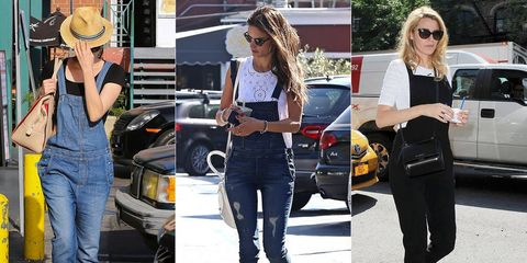 Street Style: Celebs in Overalls