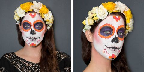 Halloween Sminkning Joker.Sugar Skull Makeup How To How To Paint A Sugar Skull Face