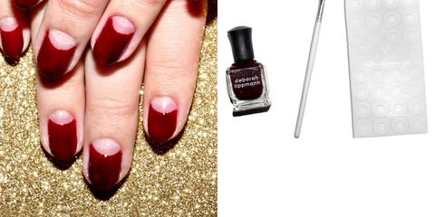 image - How To Create A Half-Moon Manicure In 4 Easy Steps - Half-Moon