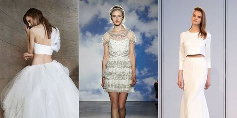 Matching Separates Have Been En Vogue For Quite Some Time Now But This Season Was The First We Saw Them In Numbers On Bridal Fashion Week Runway