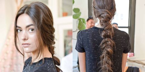 Runway How-To: Mara Hoffman's Deconstructed Braid
