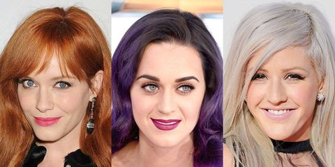 The Best Celebrity Hair Colors of the Year
