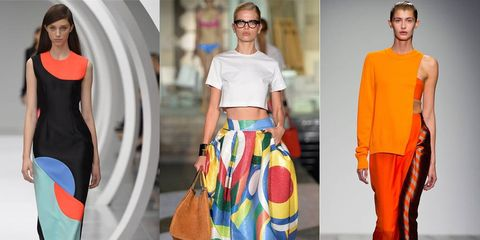 Shoulder, Textile, Orange, Style, Waist, Fashion, Neck, Street fashion, Fashion design, Fashion model,