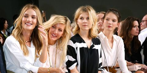 The Best Front Rows of Paris Fashion Week
