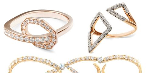 12 New Ring Shapes to Mix and Match